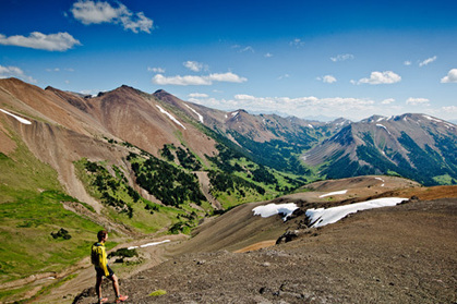 High Trail, South Chilcotin Mountains Park, British Columbia, Canada