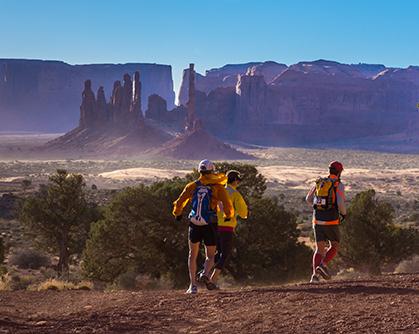 A Rare Run on Navajo Lands
