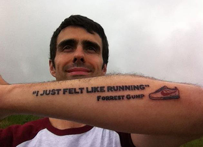 Photo Gallery: Trail Runner Tattoos