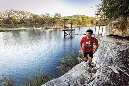 Trail Running Helps Returning Veterans