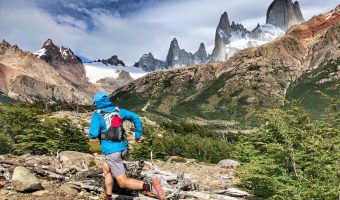 "Trophy Series Photo Contest Winner 3.30.17 - Patrick Nguyen - ""Escaping Colorado winter for the Argentine Patagonia summer! Training for The North Face Endurance Challenge Utah"""