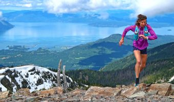 "Trophy Series Photo Contest Winner 6.15.17 - Katie Adams - ""I ran to the top of Scotchman Peak, Idaho last weekend as a part of my training for the HURL Elkhorn 50 Miler. North Idaho is such an incredible place for trail running! <3"". Photo by Gwen Le Tutour"