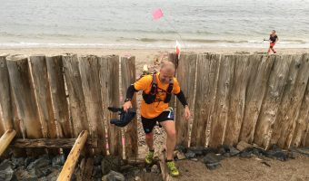"Trophy Series Photo Contest Winner 9.21.17 - Jean-François Tapp - ""2017 Ultra Trail Gaspesia 100 - Beach Section"""