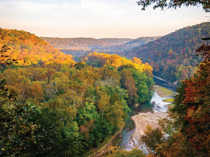 running in Kentucky National Parks