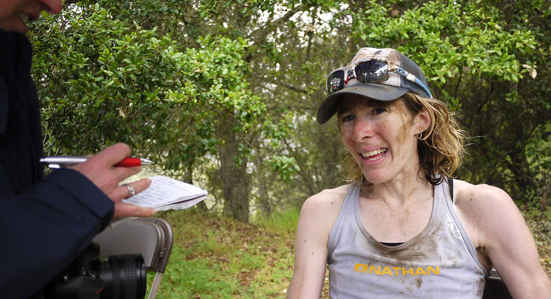 camille herron road ultra champ on running her first trail race