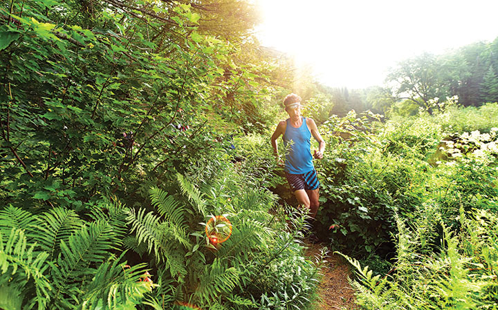 Scott Jurek on the Appalachian Trail