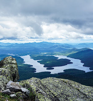 A view in the Adirondacks