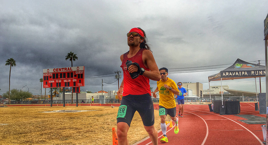 Zach Bitter Runs 100 Miles in 11:40, Setting New American Record