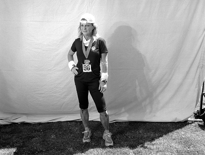 d93656253bb7 Shannon Farar-Griefer after finishing the 2011 Western States 100.