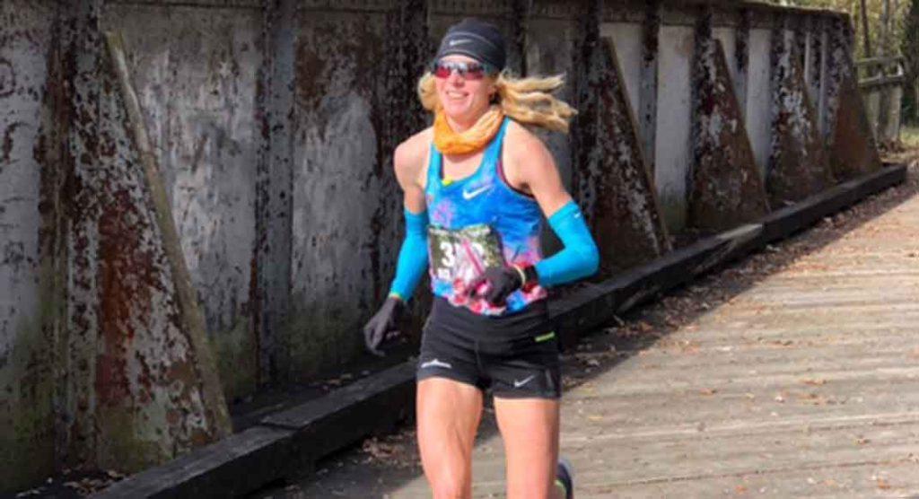 Camille Herron 100-Mile World Record