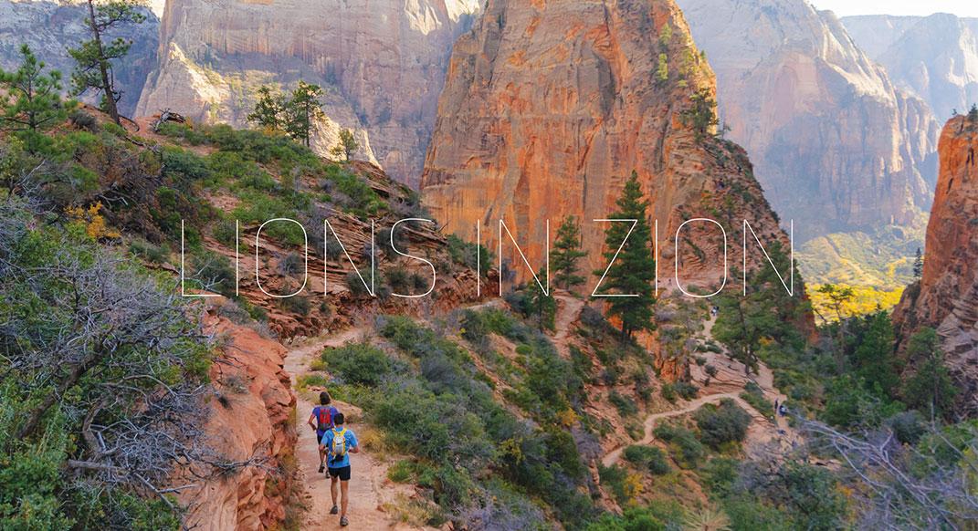 Trail Run - Magazine cover