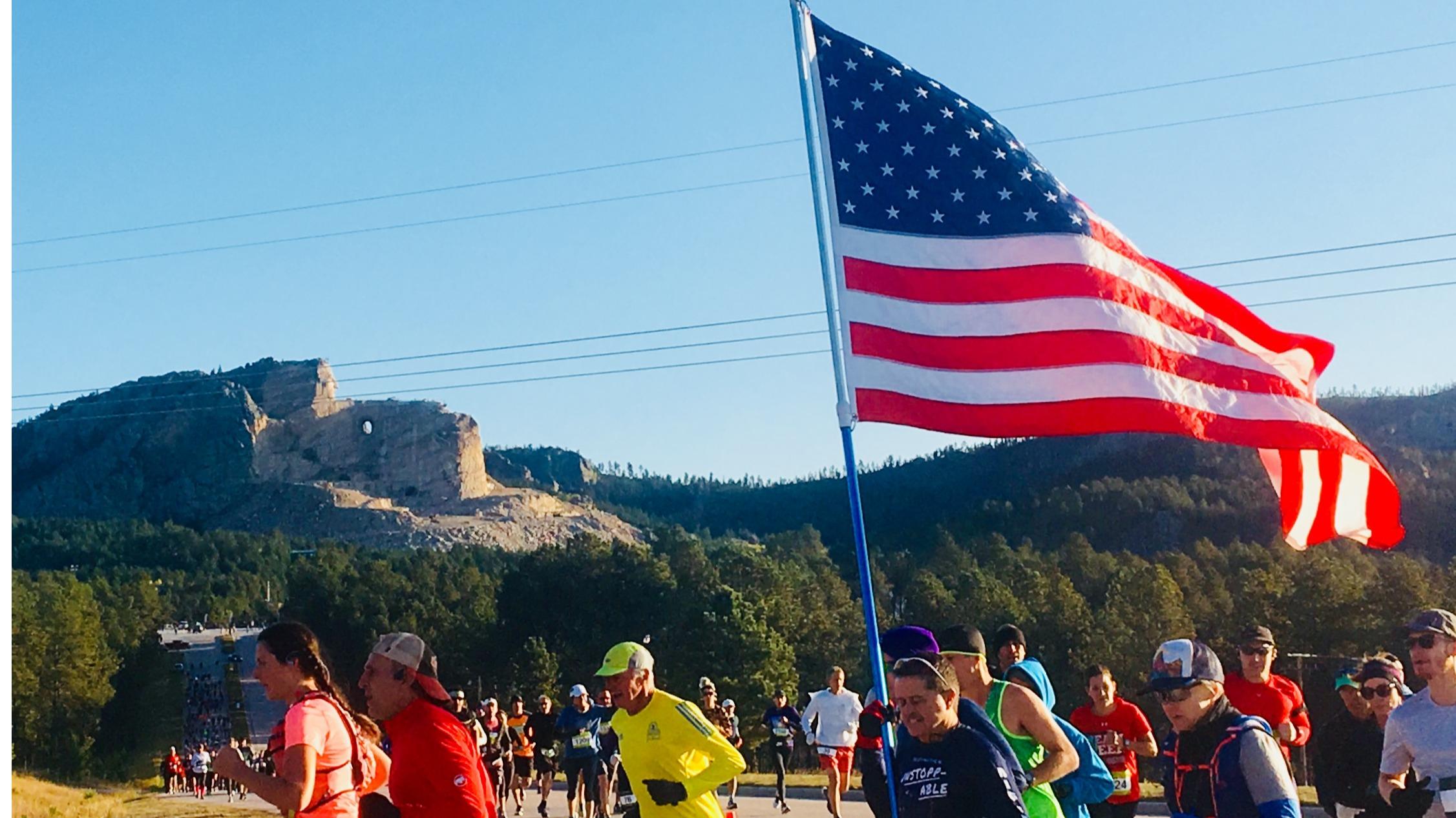 Run Crazy Horse Marathon and Half