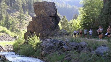 Deadwood Mickelson Trail Marathon and Half