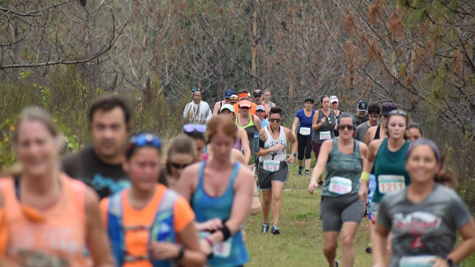 The Florida Run @ Lake Louisa State Park