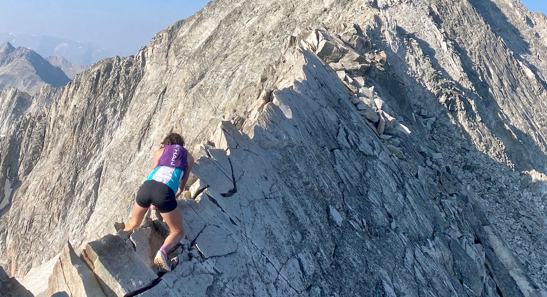 Zoë Rom Sets FKT On (Scary, 14,131-Foot) Capitol Peak