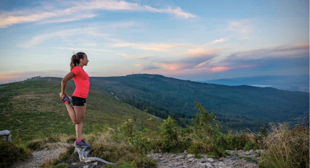How to Best Cool Down After Trail Running