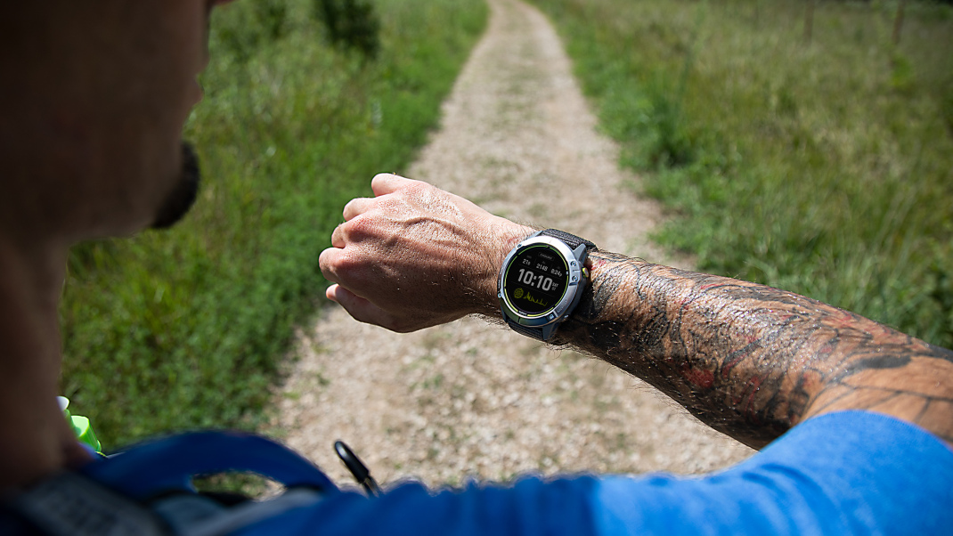 Trail Tested: The New Garmin Enduro Smartwatch