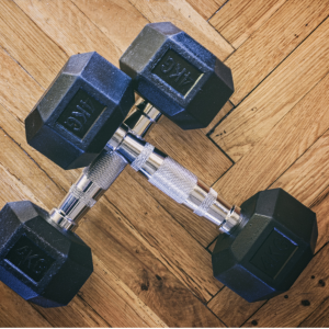 Two-Dumbbell Advanced Home Workout for Runners