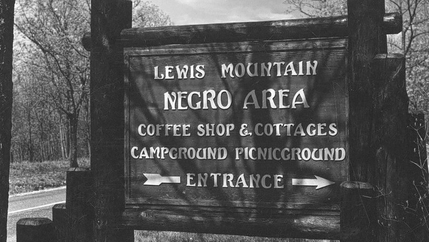 shenandoah segregation history2 s Necesitamos cambiar los nombres racistas en nuestras tierras públicas